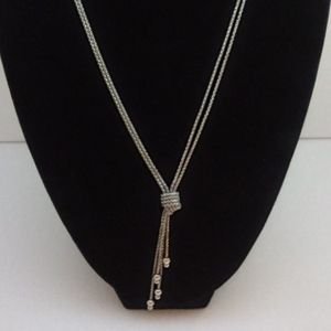 """Silpada Sterling """"Forget Me Knot"""" Necklace"""